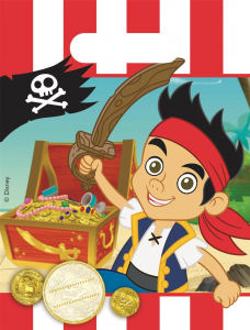 Jake & The Neverland Pirates Loot/Party Bags