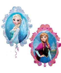 Disney Frozen Anna & Elsa Shaped Foil Balloon