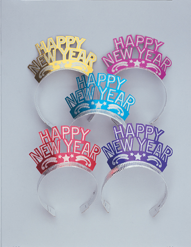 New Year Tiara's