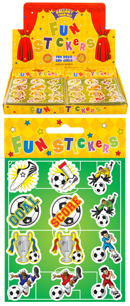 Football Fun Stickers