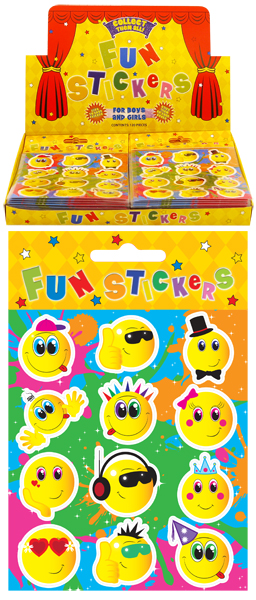 Smiley Face Fun Stickers