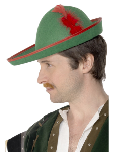 Robin Hood Hat with Feather