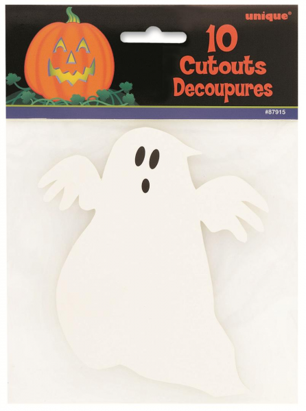 Ghost Card Cut Outs
