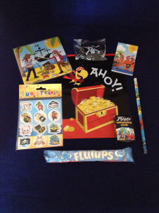 Pirate Filled Party Loot Bag for Children Med