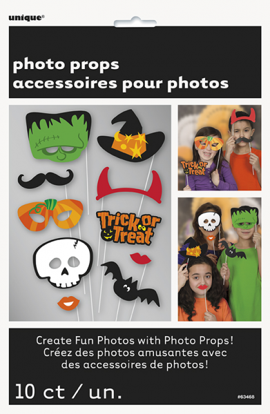 Halloween Trick or Treat Photo Booth Props