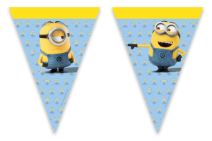 Despicable Me Minions Flag Banners