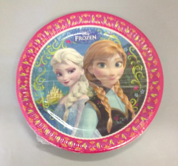Disney Frozen Anna u0026 Elsa Paper Plates  sc 1 st  UK Party Supplies & Disney Frozen Anna u0026 Elsa Paper Plates - The Party Zone