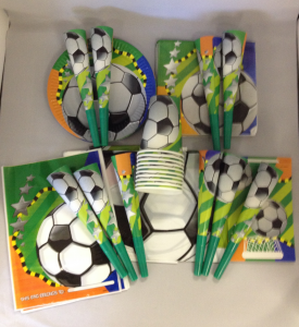 Football Party Kit for 10 Children