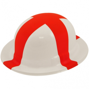 St George England Plastic Bowler Hat