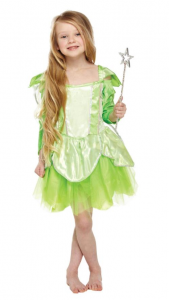 Tinkerbell Green Fairy Dress with Wings