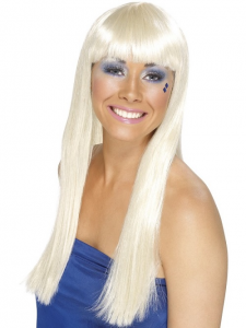 Blonde Abba Dancing Queen Wig