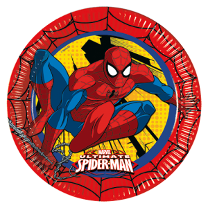 Ultimate Spiderman Paper Plates