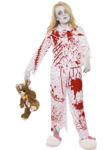Zombie Pyjama Girl Halloween Costume