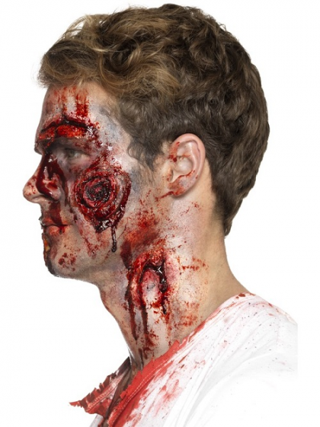 Deluxe Latex Gory Wounds with Adhesive