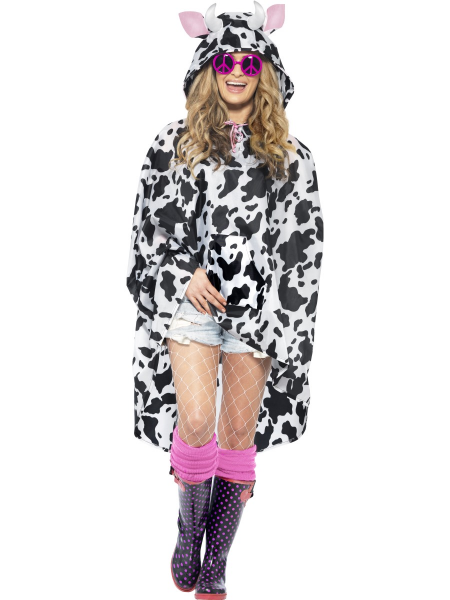 Cow Party Poncho