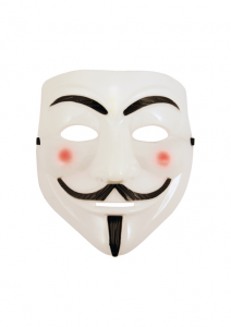 V for Vendetta Anonymous Face Mask