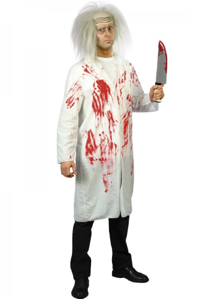 Blood Spattered Doctors Coat
