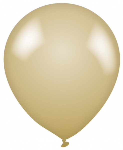 Plain Gold Latex Balloon