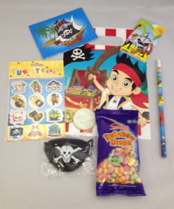 Jake The Pirate Filled Party Loot Bag