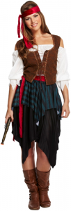 ladies Adult Pirate Caribbean
