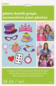 Mad Hatter Tea Party Photo Booth Props