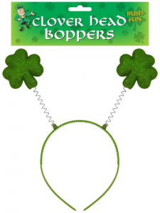 Green Clover Head Boppers