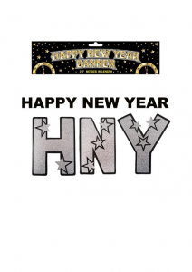 Happy New Year Block Banner
