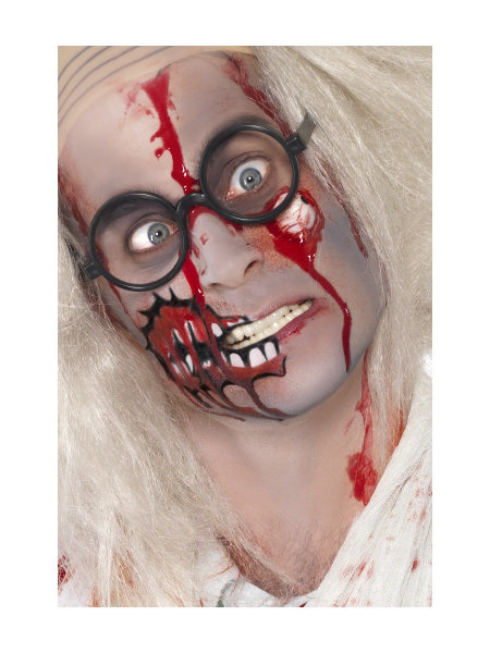 Zombie Face Paint Kit with Latex Eyeball