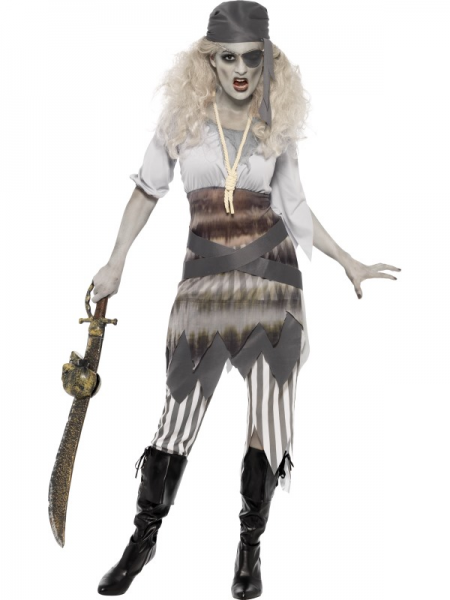 Pirate Ghost Lady's Halloween Costume