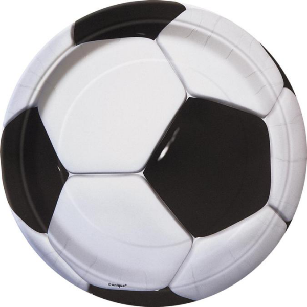Football Paper Plates  sc 1 st  UK Party Supplies & Football Paper Plates - UK Party Supplies