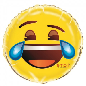 "18"" Cry Emoji Foil balloon"