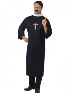 Adult XLarge Priest Costume