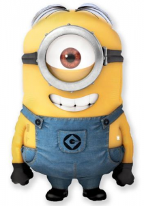 Despicable Me Minion Foil Shape Balloon with One Eye