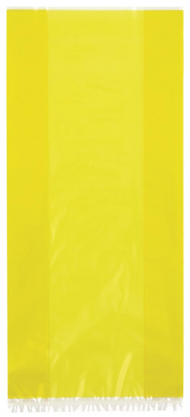 Cello Gift Bags in Yellow