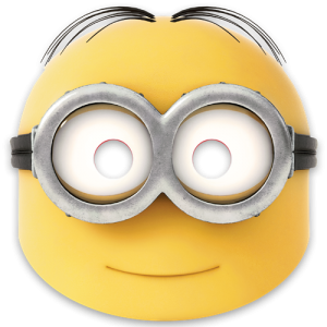 Despicable Me Minions Mask
