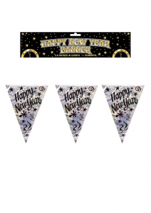 Happy New Year Flag Bunting