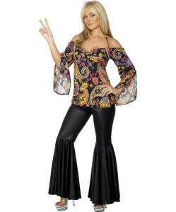 Groovy Lady Hippie Outfit