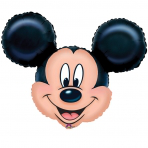Mickey Mouse Head Shaped Large Foil Balloon