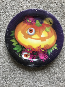 Halloween Spooky Pumpkin Dinner Plates