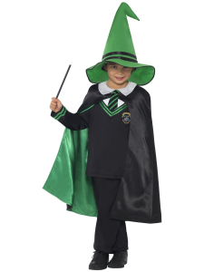 Wizard Green Boys Halloween Costume