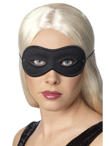 Black Farfalla Eyemask on Elastic