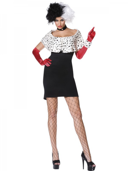 Evil Madame Fancy Dress Costume