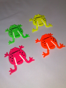 Neon Jumping Frog