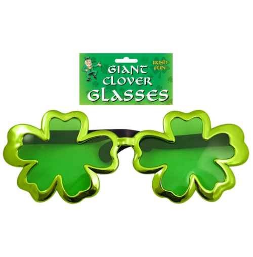 Green Giant Clover Fun Glasses