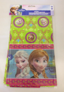 Disney Frozen Anna & Elsa Plastic Party Table Cover