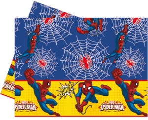 Ultimate Spiderman Plastic Tablecover