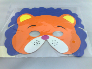 Lion Foam Face Mask