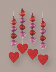 Prismatic Hanging Heart Decoration