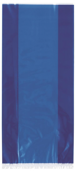 Cello Gift Bags in Royal Blue