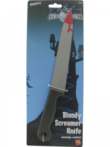 Screamer Knife with Bloody Tip